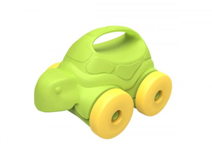 Turtle on wheels recycled plastic