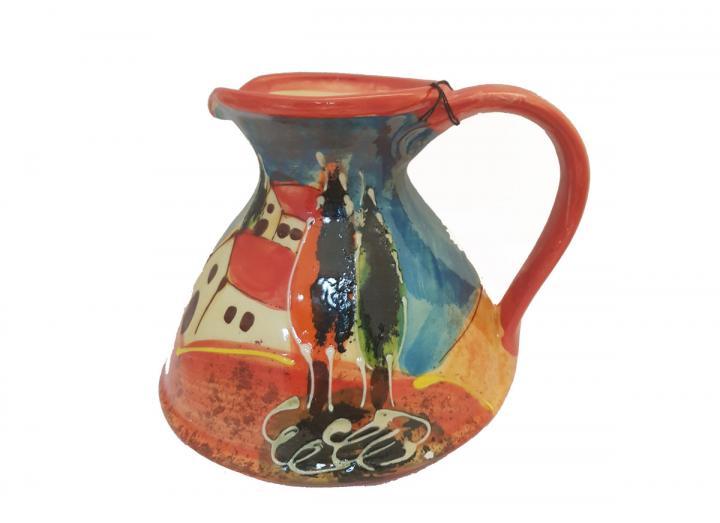 Tuscany flat based jug