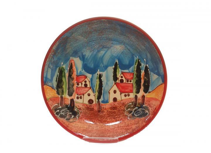 Tuscany plate