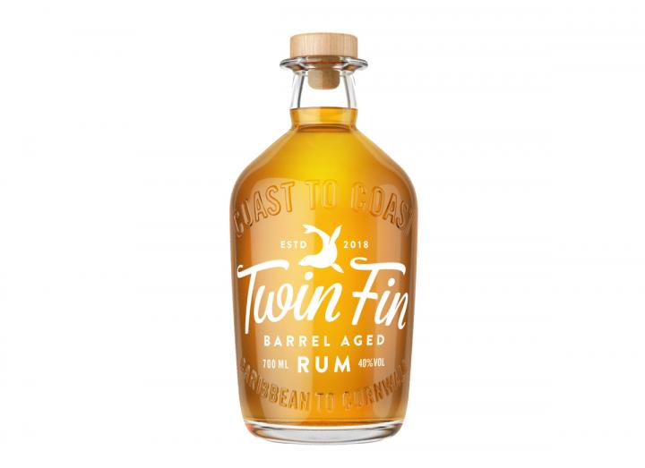 Twin Fin barrel aged rum 70cl