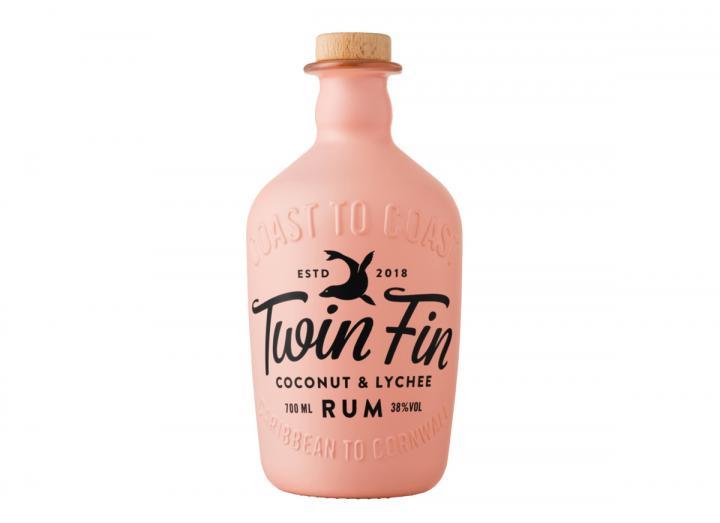 Twin Fin coconut & lychee rum 70cl