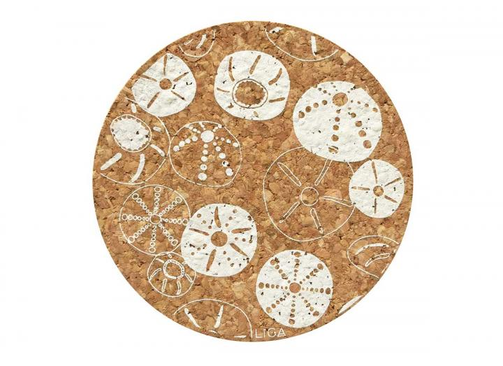 Cork urchin placemats & coasters