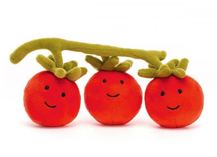 Vivacious vegetable tomato cuddly toy from Jellycat