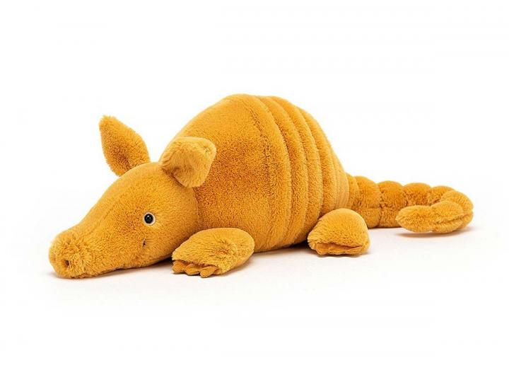 Vividie armadillo cuddly toy from Jellycat