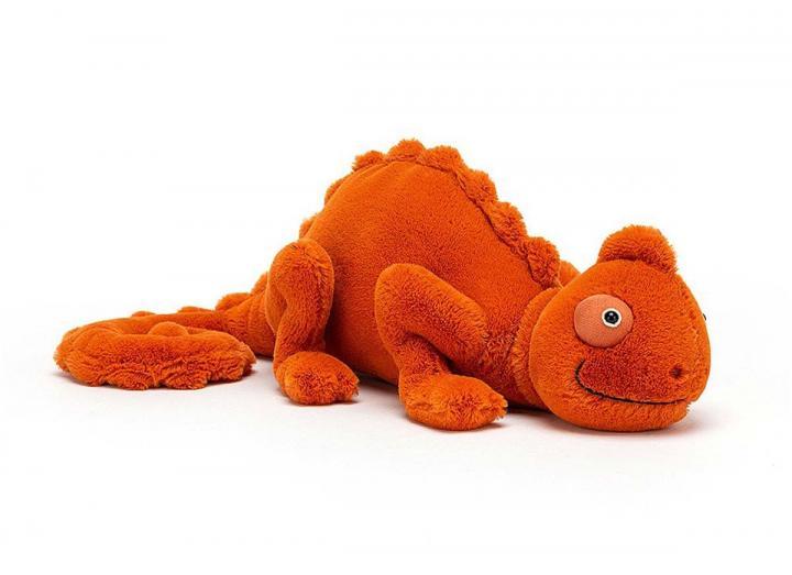 Vividie chameleon cuddly toy from Jellycat
