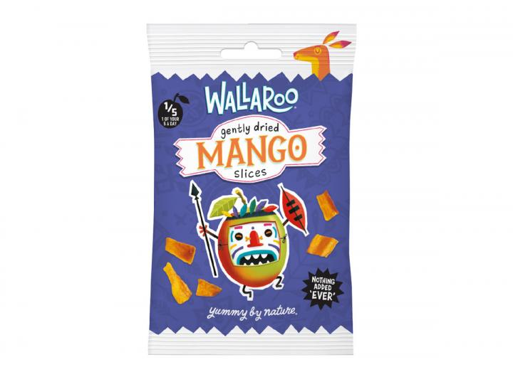 Wallaroo dried mango slices 30g