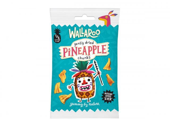 Wallaroo dried pineapple chunks 30g