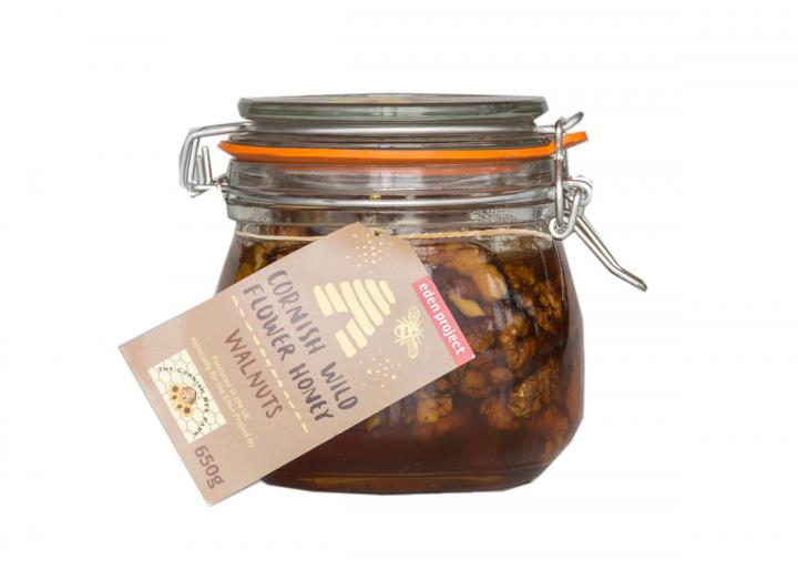 Walnuts in Cornish wildflower honey