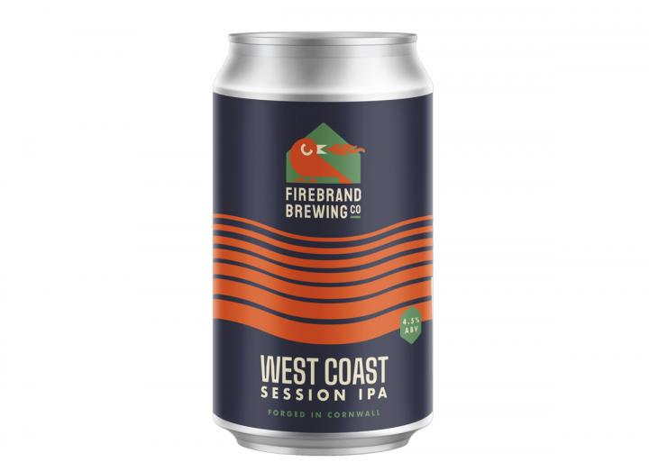 West Coast Session IPA from the Firebrand Brewing Co. in Cornwall