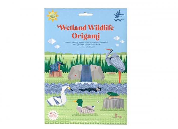 Wetland wildlife origami