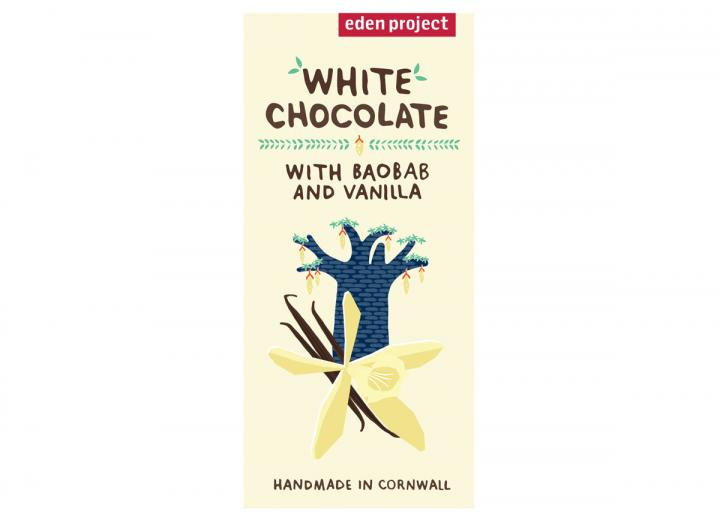 White chocolate with baobab & Madagascan vanilla