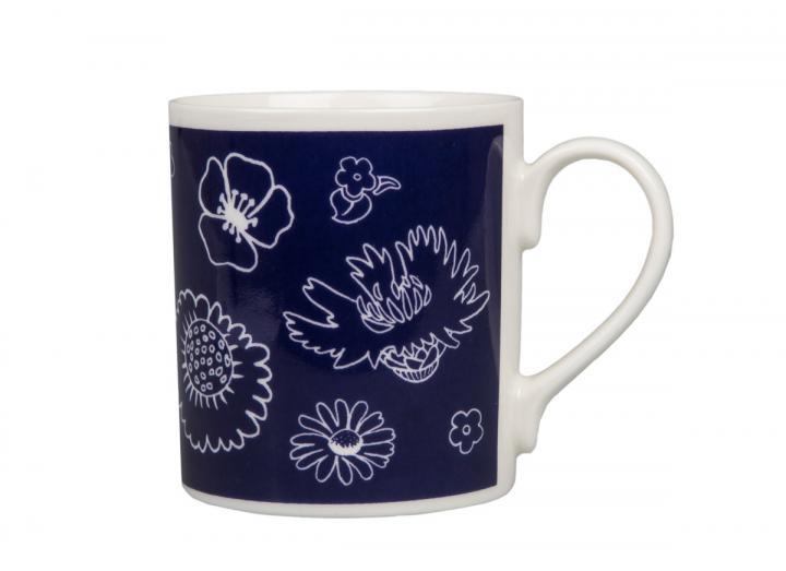 Eden Project wildflower print mug