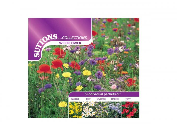 Suttons wildflower seed collection