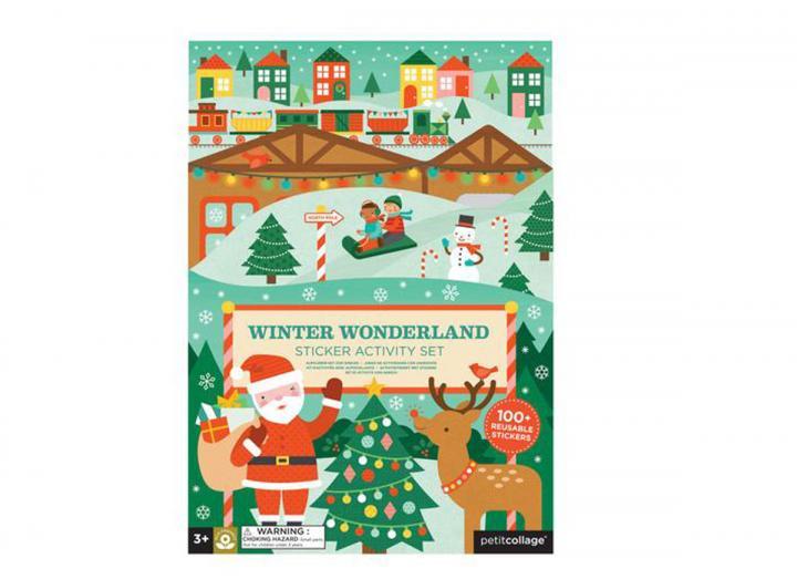 Winter wonderland sticker set