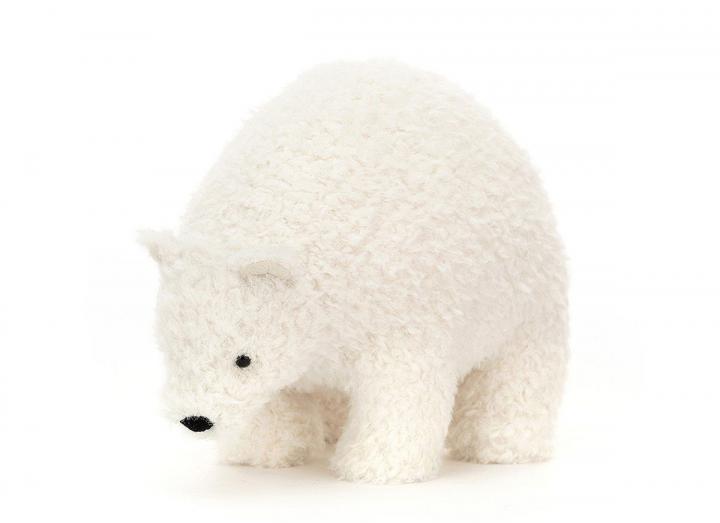 Wistful polar bear cuddly toy from Jellycat