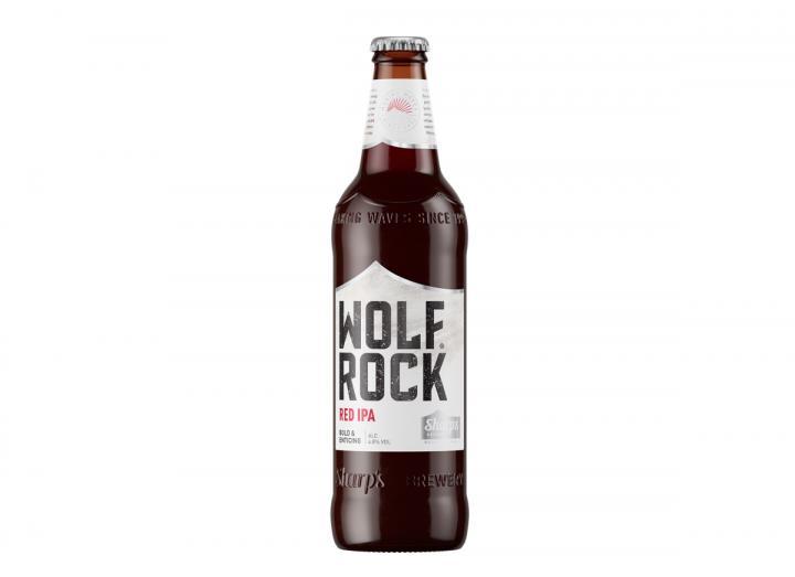 Sharp's Brewery Wolf Rock red IPA 500ml