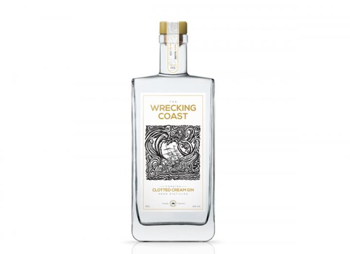 The Wrecking Coast clotted cream gin 35cl