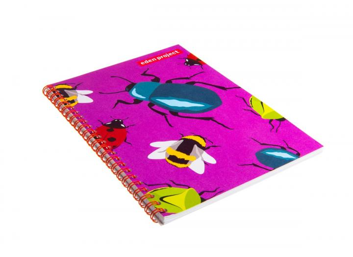 A5 insect notebook beetle