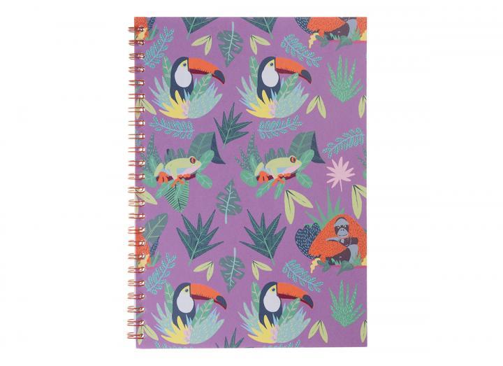 A5 notebook jungle