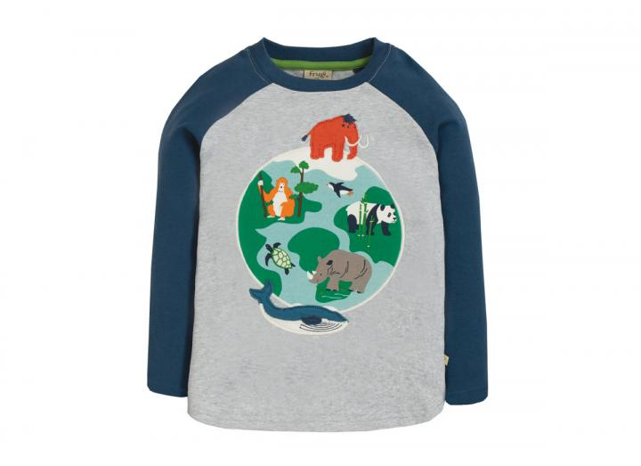 Alfie applique top globe