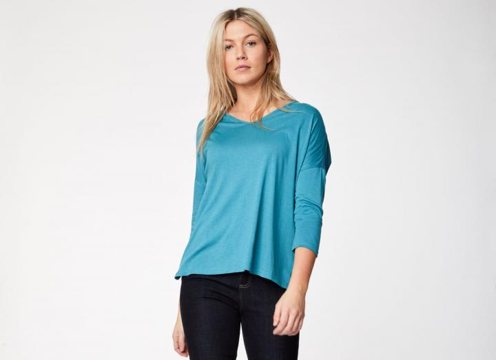 Angelia top river blue