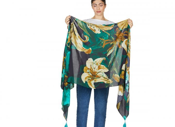 Artistry shawl scarf