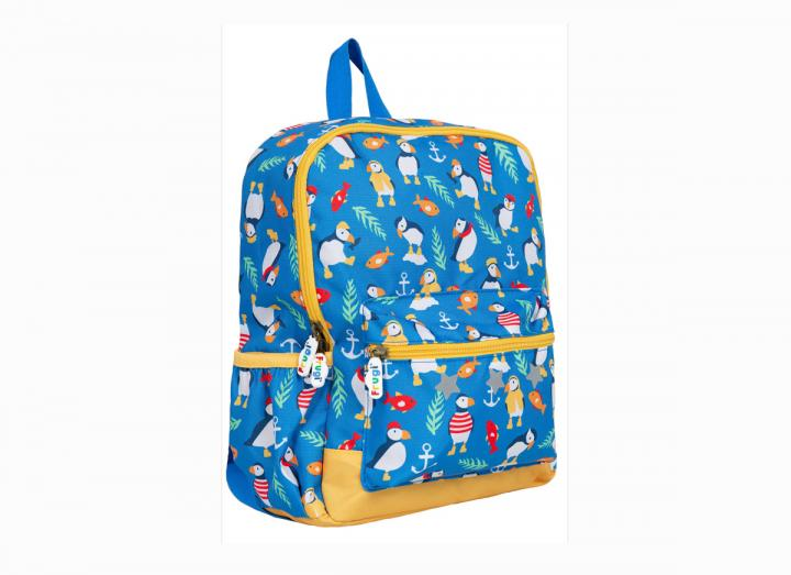 Backpack puffins