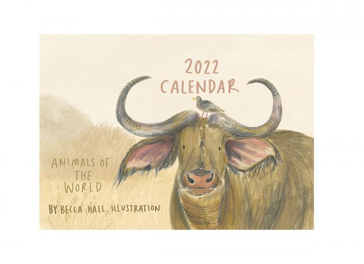 Animals of the world calendar