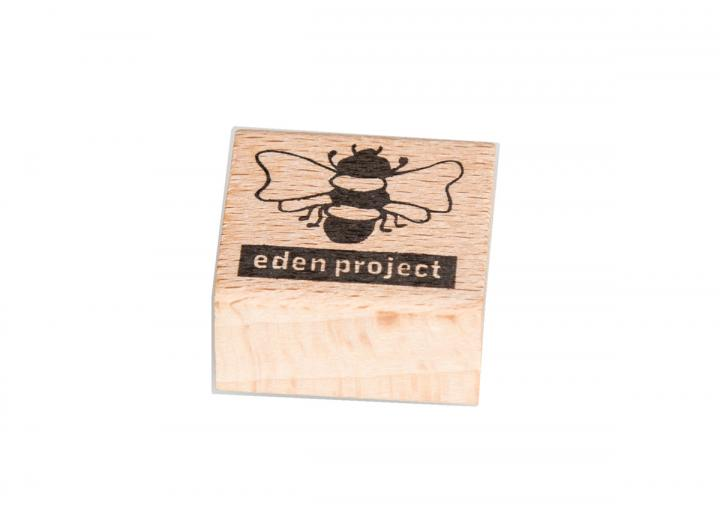 Bee wooden pencil sharpener