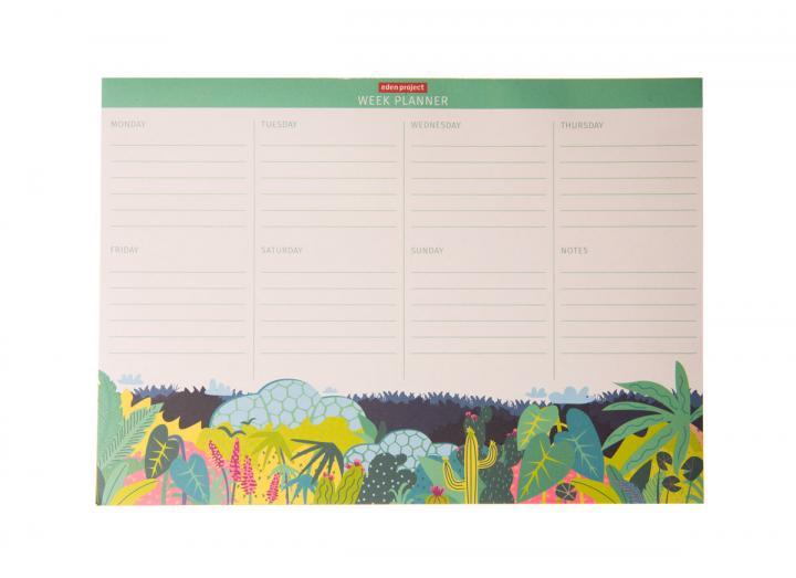Biomes week planner