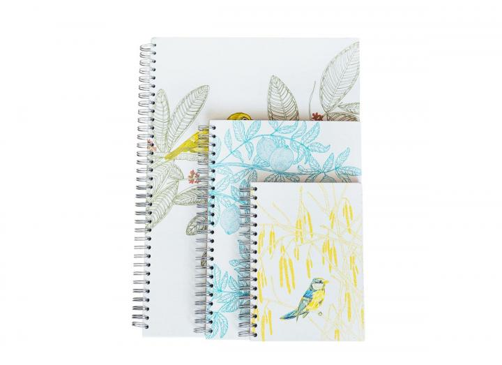Bird hardback notebooks