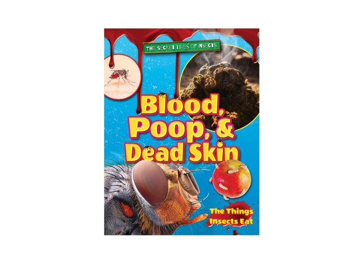 Blood poop and dead skin
