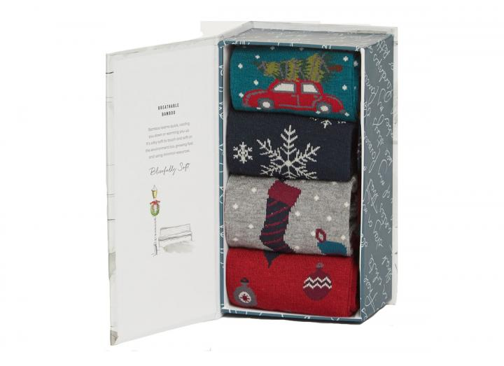 Christmas eve sock gift box