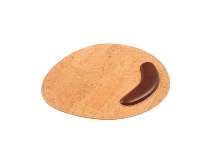 Cork mouse pad