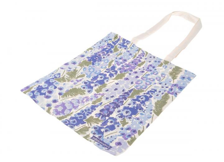 Cotton bag foxglove