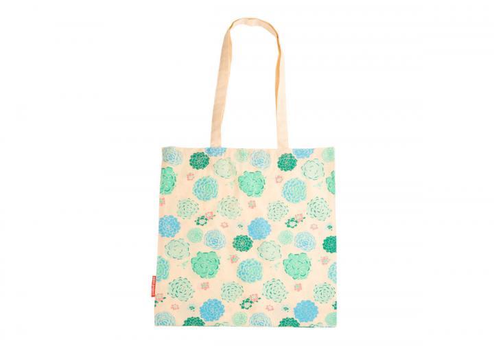 Cotton bag succulent