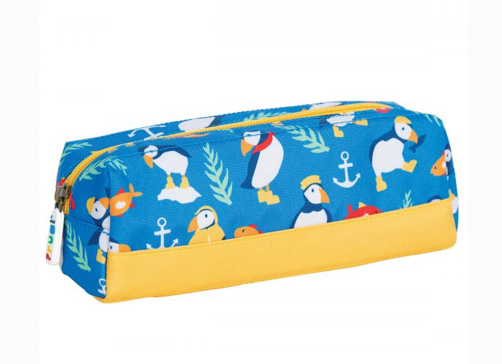 Crafty pencil case puffins