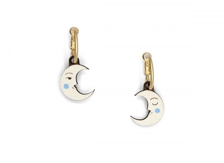 Cresent luna earrings