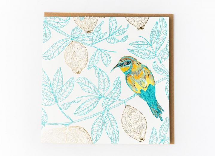 Eden Project European bee-eater card