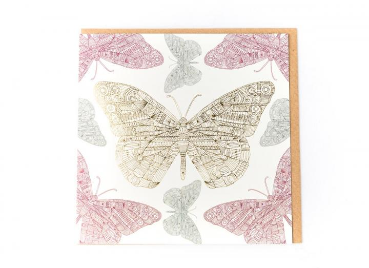 Eden Project butterfly card