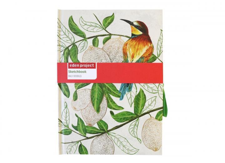 Eden Project case bound artists sketchbook