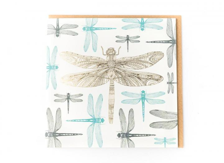 Eden Project dragonfly card