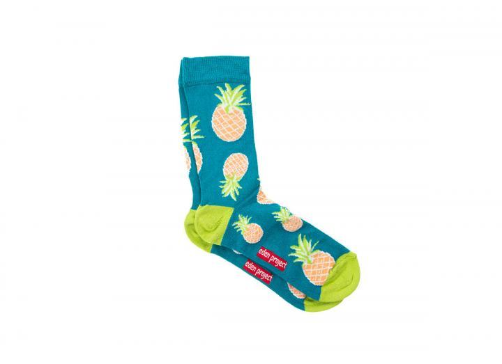 Eden pineapple bamboo socks