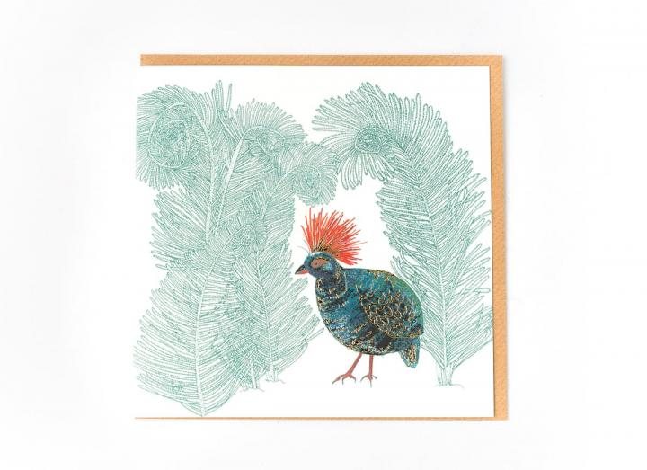 Eden Project roul roul partridge card