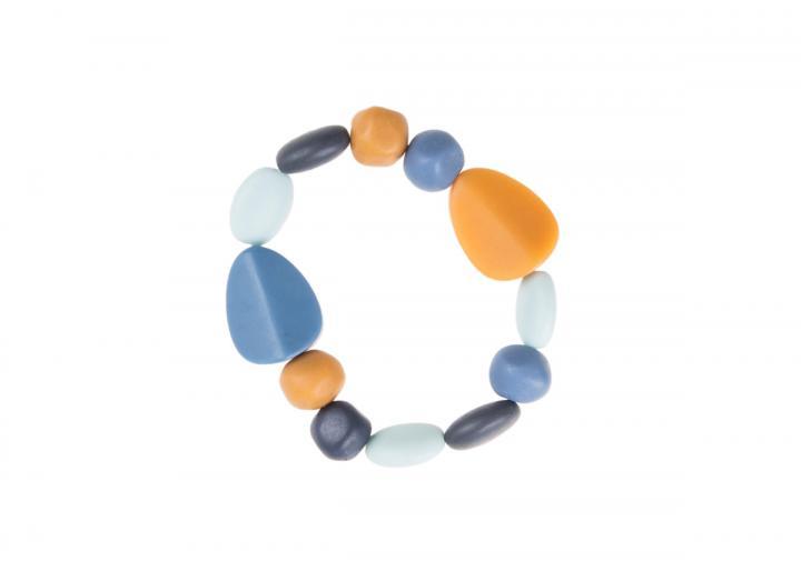 Elasticated resin bracelet