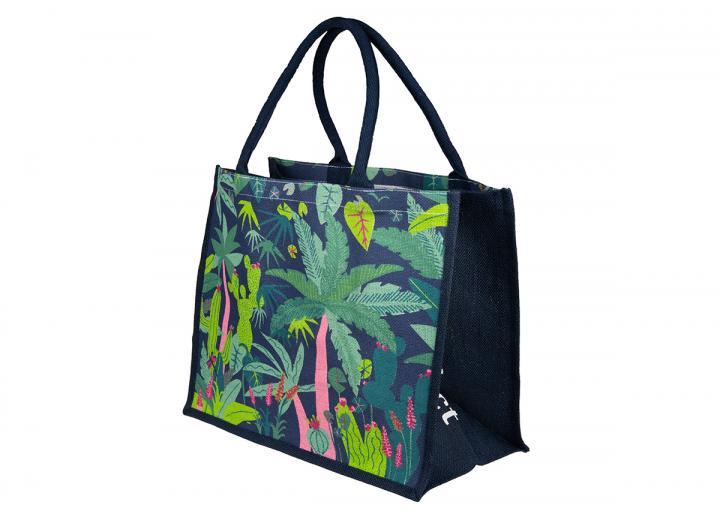 Extra large jute bag Rainforest