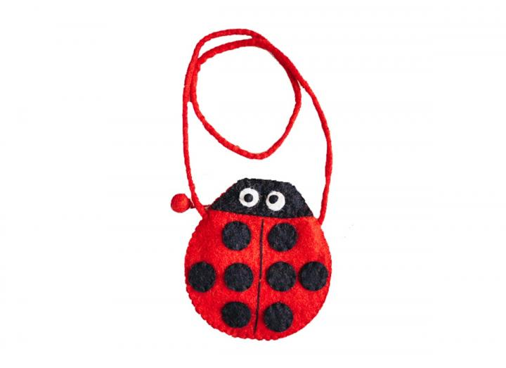 Felt bag ladybird