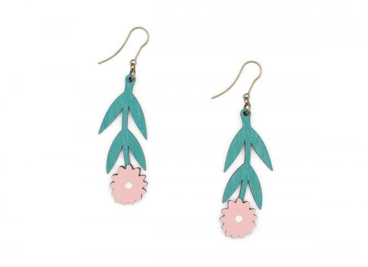 First bloom earrings