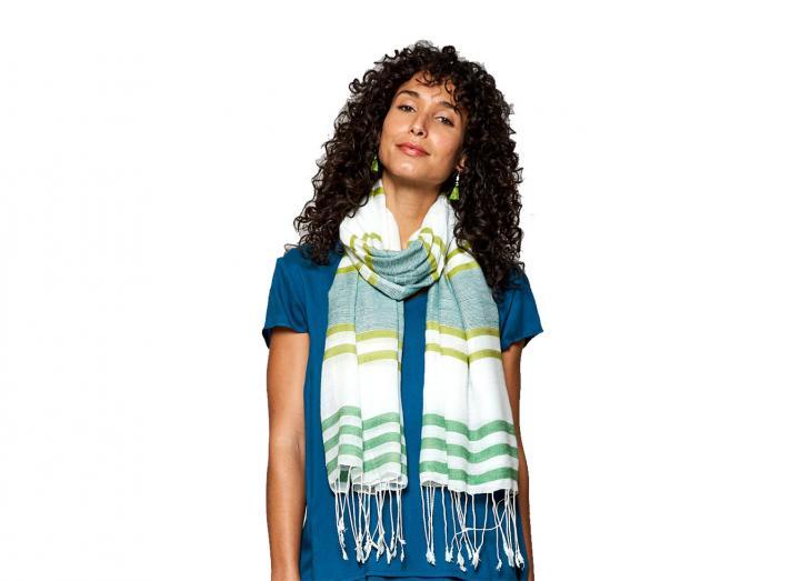 Handloom scarf