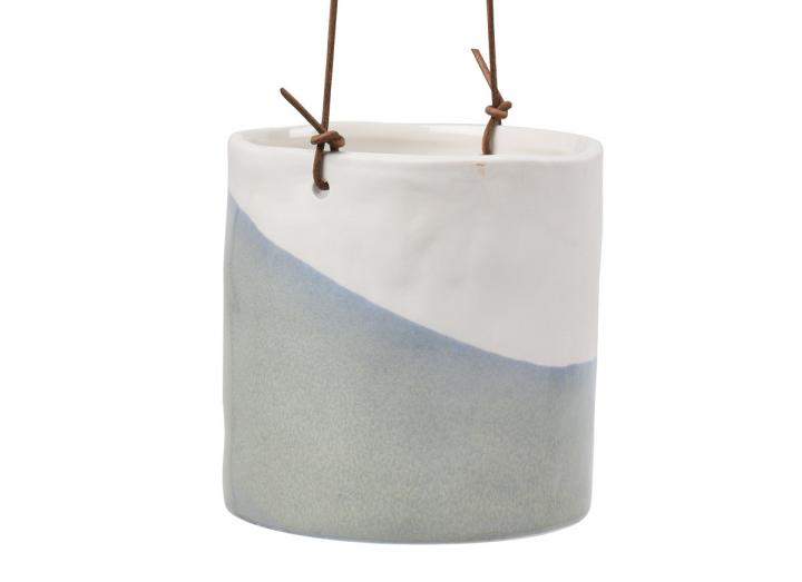 Dip design indoor hanging pot